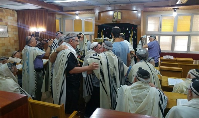 News from Israel - a Bar Mitzvah celebrated